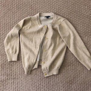 Gap Gold Cardigan, Size 2T